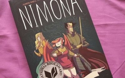 1st Book for 2020: Nimona by Noelle Stevenson