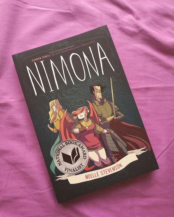 Nimona book photo.