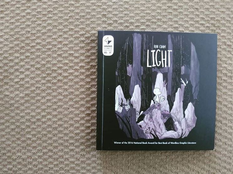 3rd Book for 2020: Light by Rob Cham