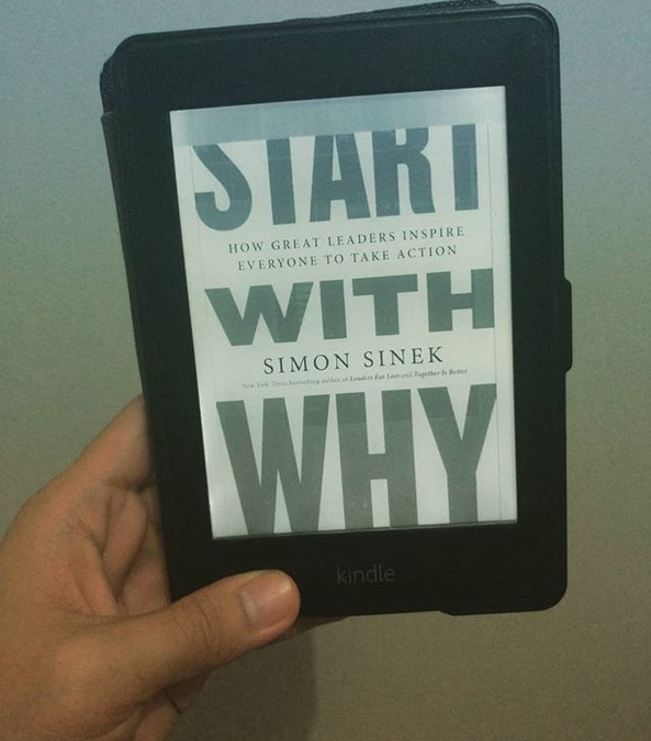 10th book for 2020: Start With Why by Simon Sinek